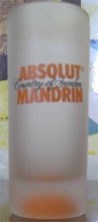 Absolut Mandrin Shot Glass